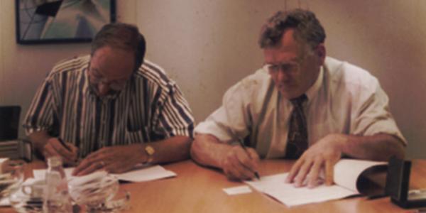Foto history documenten tekenen