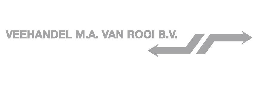 Logo Veehandel M.a. Van Rooi B.v.